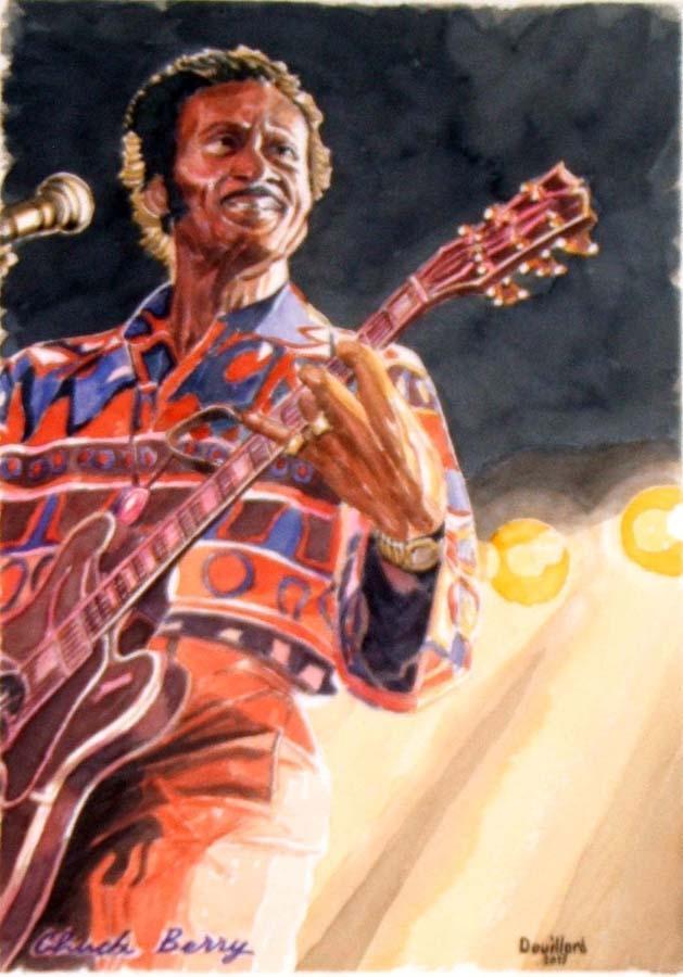 Chuck Berry by Douillard